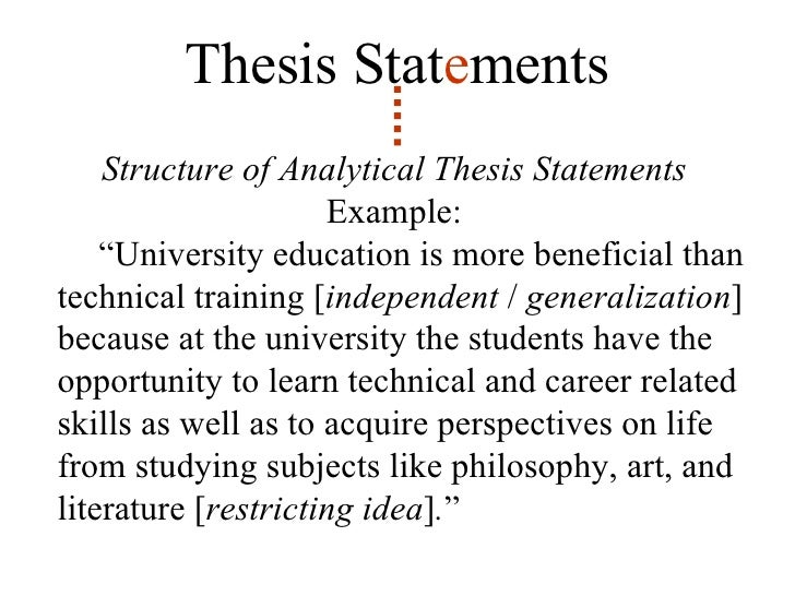 formulating a tentative thesis statement Coming up with a tentative thesis 1 what is a thesis • the thesis statement is the sentence that states the main idea of  about your thesis statement.