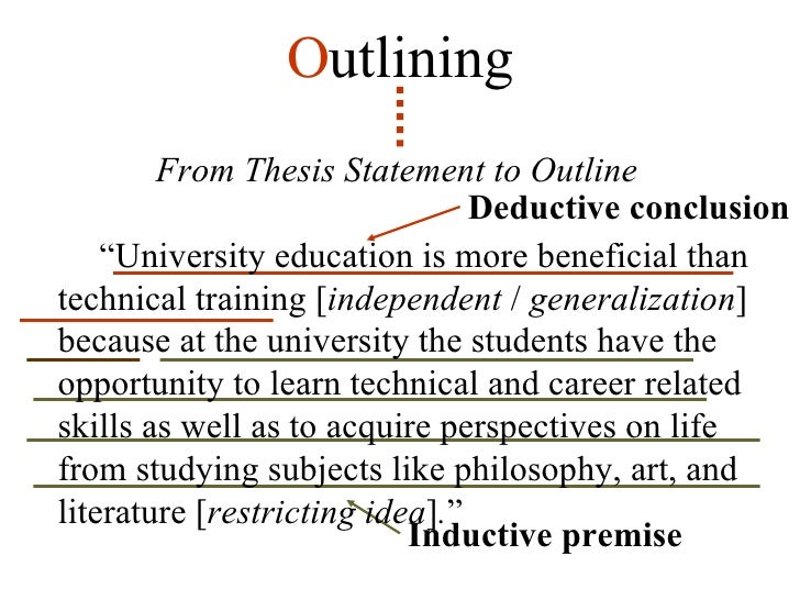 premise essay Here we offer sample methods employed by three instructors from the institute for writing and rhetoric: major premise so that the essay is clear.