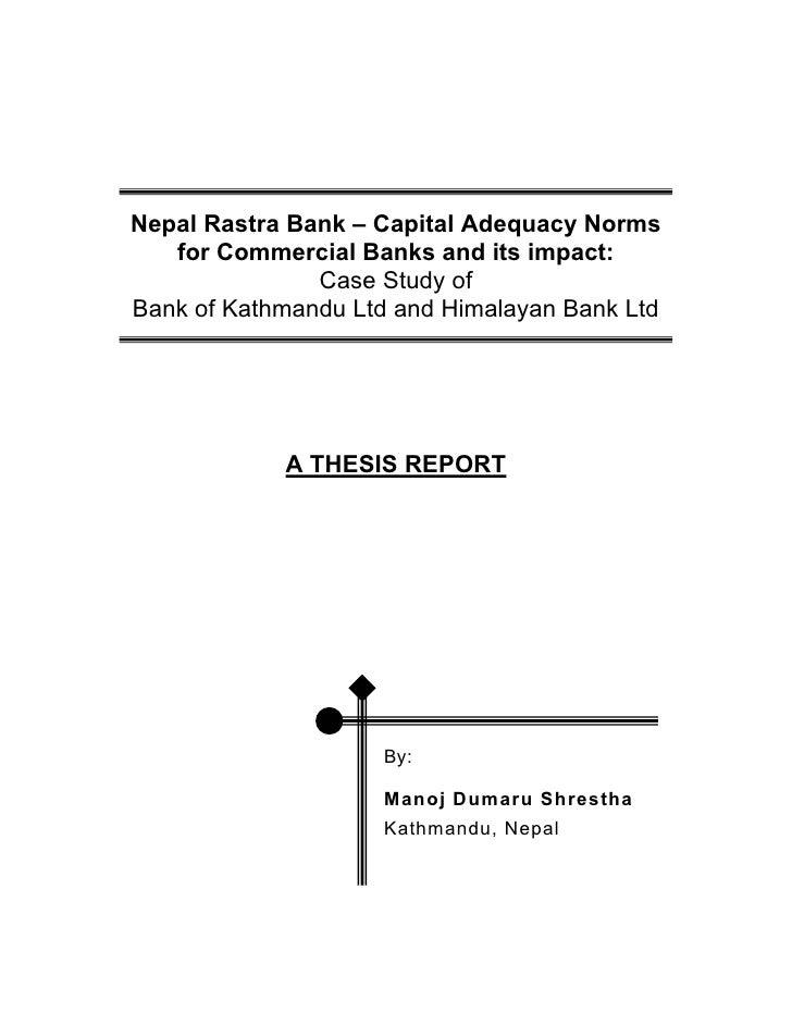Dissertation banking finance