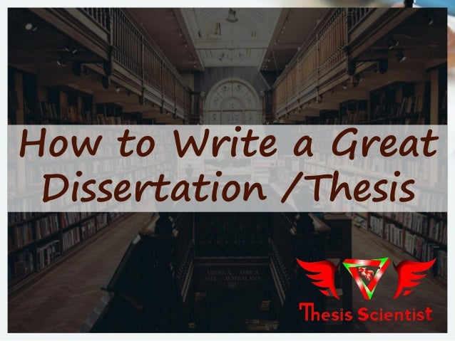 Good phd thesis