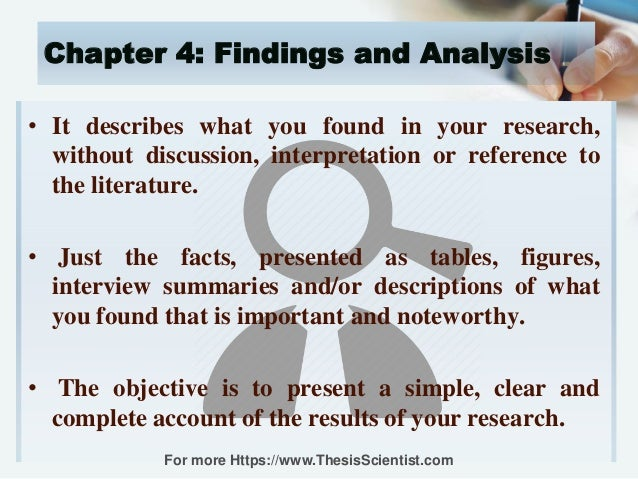 present research findings dissertation
