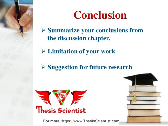 conclusion part of a dissertation Here are excellent and expert tips for perfect dissertation conclusion  it is a crucial part of  a conclusion chapter in dissertation writing process.