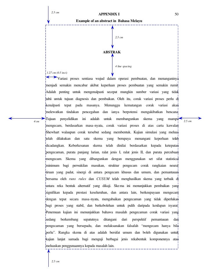 contoh tajuk thesis uitm