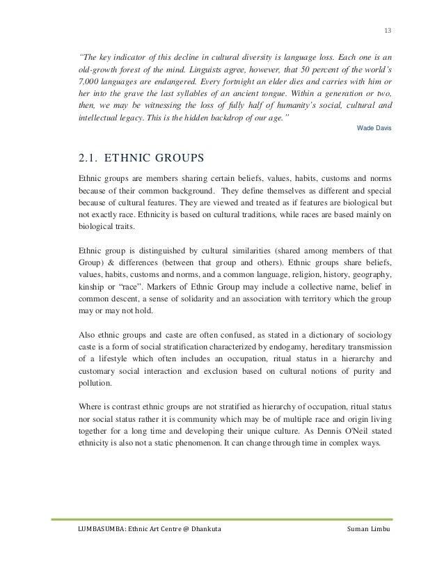 race and ethnicity essay topics