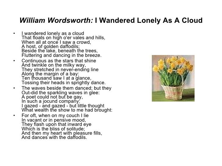 looking for top five the best i wandered lonely as a cloud essay daffodil by ted hughes and i wandered lonely as a cloud