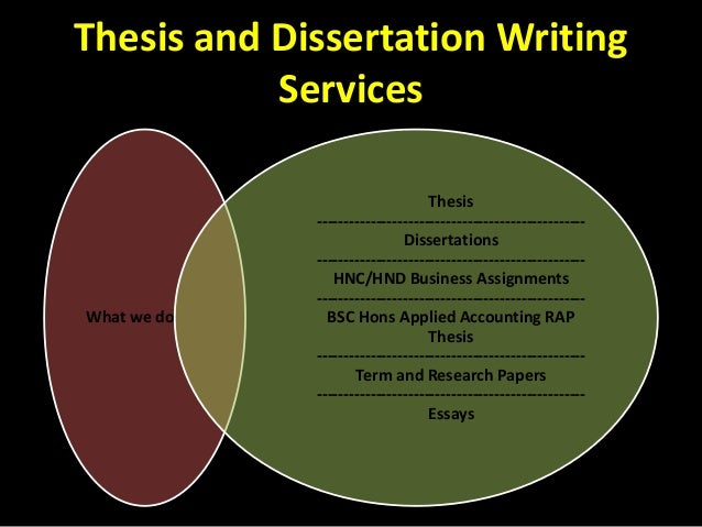 Dissertation writing services illegal yahoo