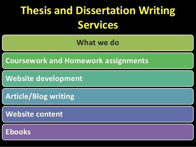 Qualified Dissertation Writers at Your Disposal
