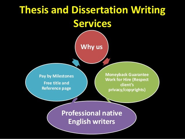 Dissertation course work services