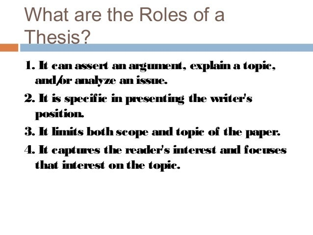 an analysis of the idea of writing about the topic What exactly is your essay about writing great thesis statements and topic sentences that align with your main idea will help readers to.