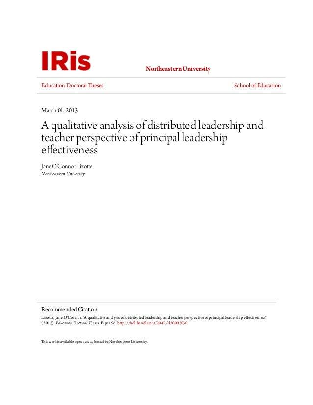 Leadership Effectiveness Analysis