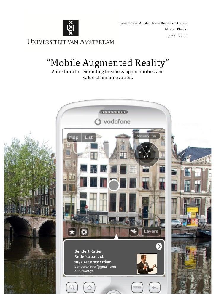 University*of*Amsterdam*–*Business*Studies*                                                *                           Mas...