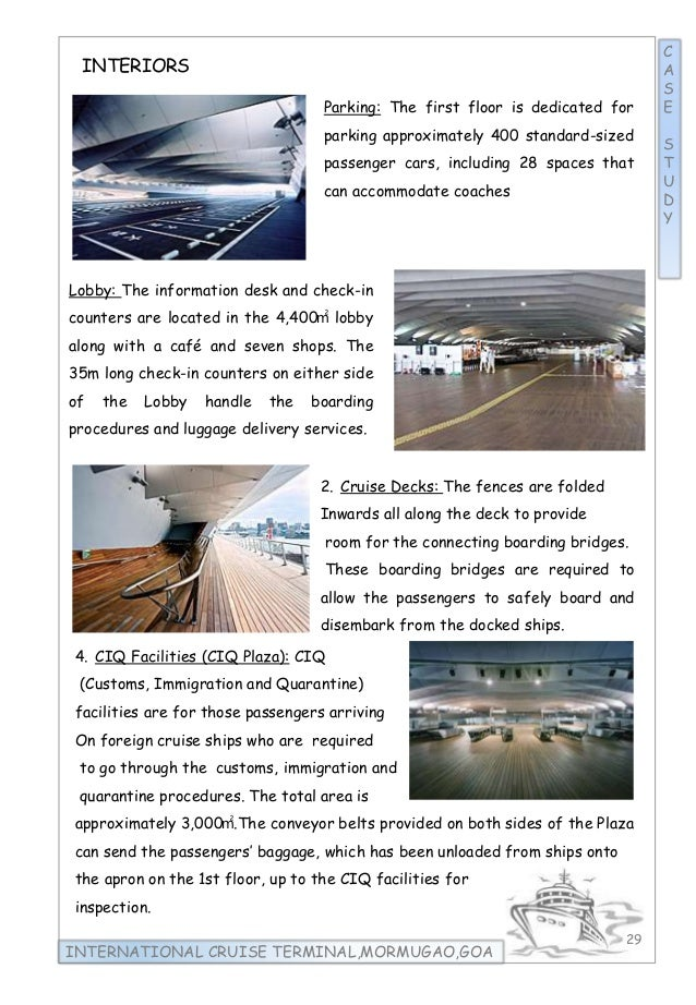 international cruise terminal thesis pdf
