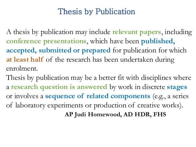 Dissertation publikation