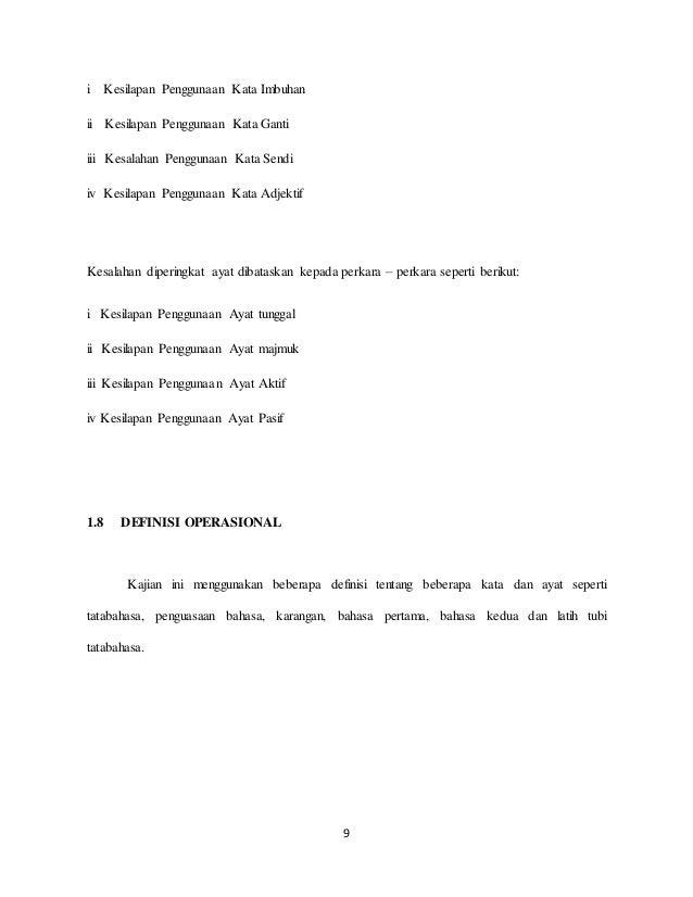 thesis ayat majmuk