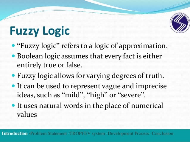 Fuzzy logic controller thesis