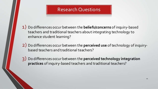 technology integration thesis Action research for technology integration what is action research action research (or teacher inquiry) is a means for teachers to study the effects of their teaching practices on student learning the advantage is that action research can lead to heightened profess.