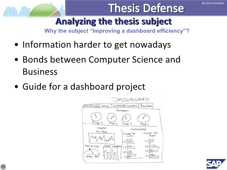 What is thesis defense
