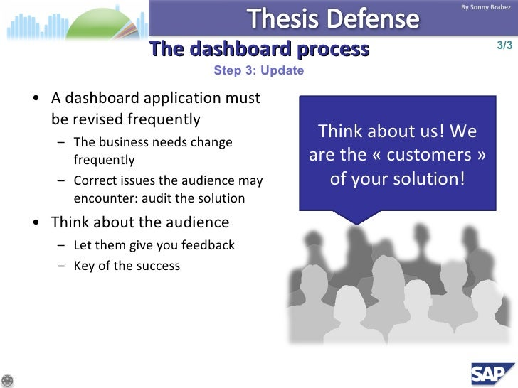 thesis on dashboard The masonry society's (tms) student thesis awards are presented annually by  tms's research committee to the best doctoral dissertation and master's thesis.