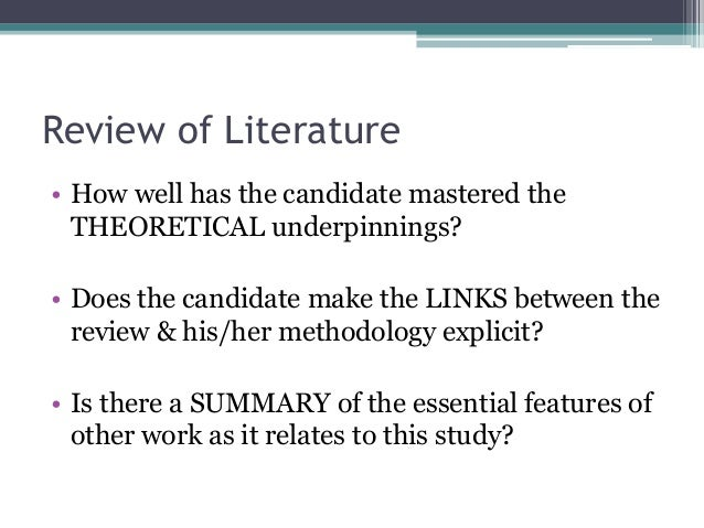 evaluation of phd thesis proposal A sequential exploratory mixed methods evaluation of graduate training and development  the content of the thesis is the result of work which has been carried out.