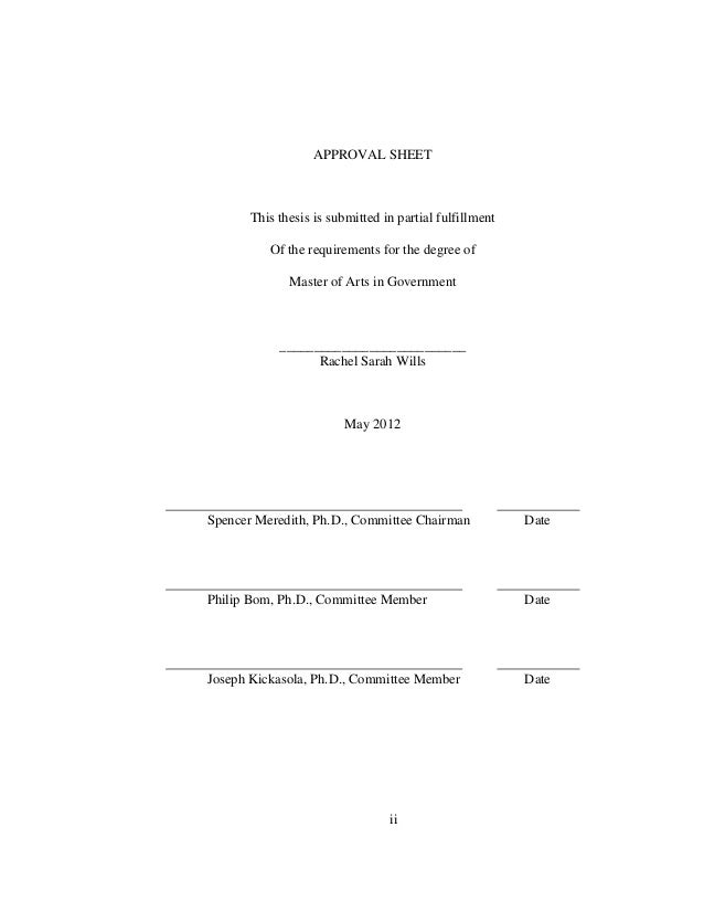 Phd thesis on environmental impact assessment