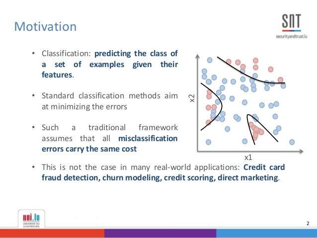 PhD Defense - Example-Dependent Cost-Sensitive Classification Slide 2