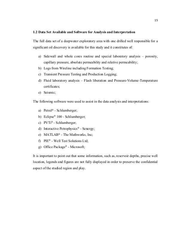 interactive petrophysics thesis