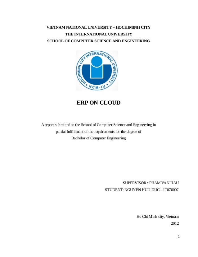 Mba thesis erp