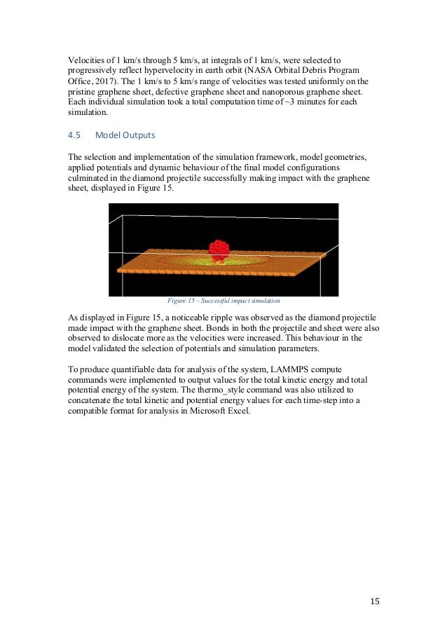 Molecular dynamics modelling of projectile impacts on 2D