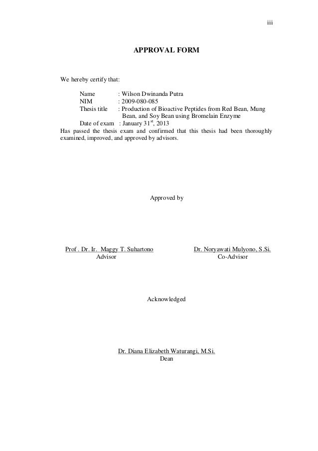 Dissertation approval form ucf