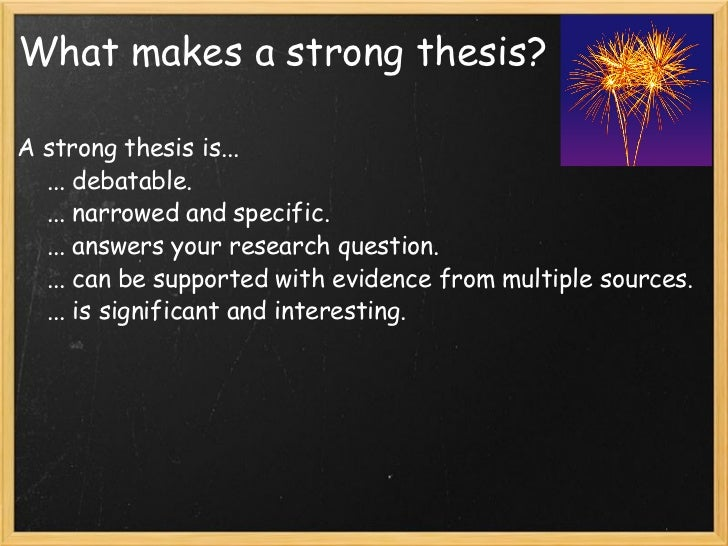 what makes a good research question for an essay Free essays, research papers, term papers, and other writings on literature, science, history, politics, and more.
