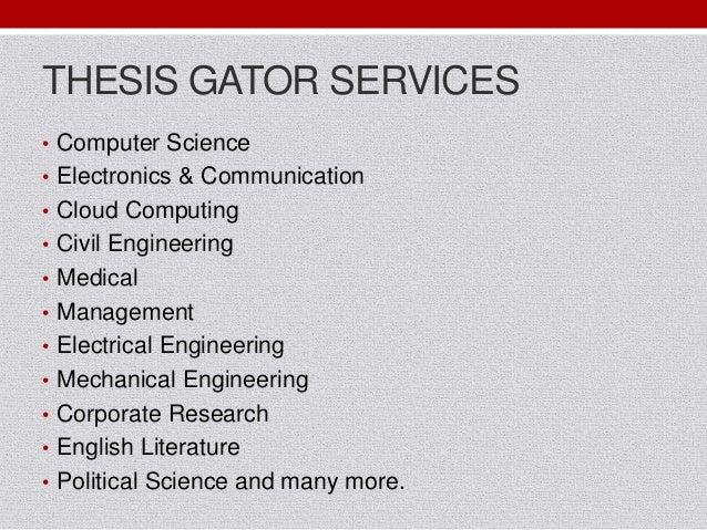 Thesis Gator
