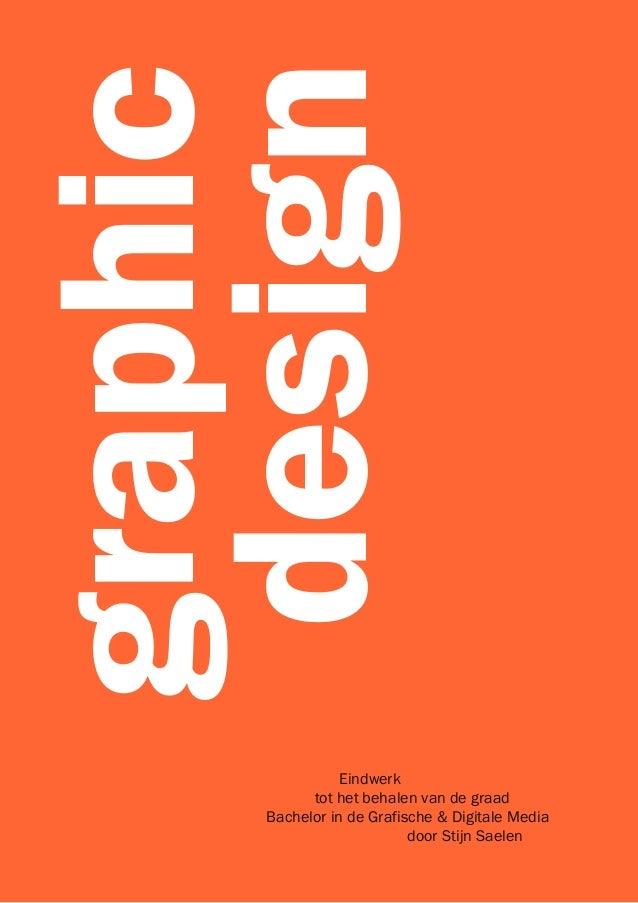 Graphic design thesis