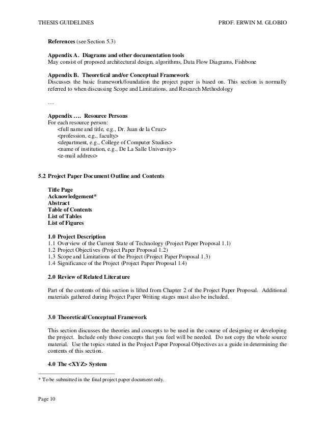 capstone project guidelines for bsit