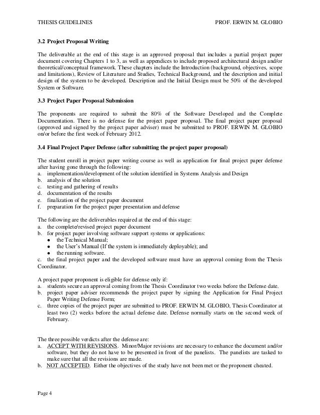 BSCS | BSIT Thesis Guidelines