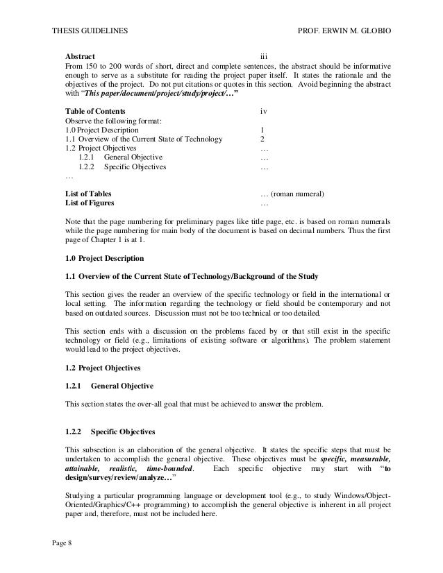 bsit thesis guidelines