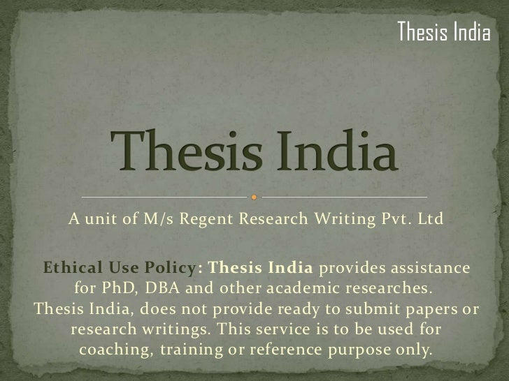 thesis consultants Find a thesis consultations you are here a pre-submission consultation gives you a preview of the formatting revisions that will be required for your manuscript before your official submission.