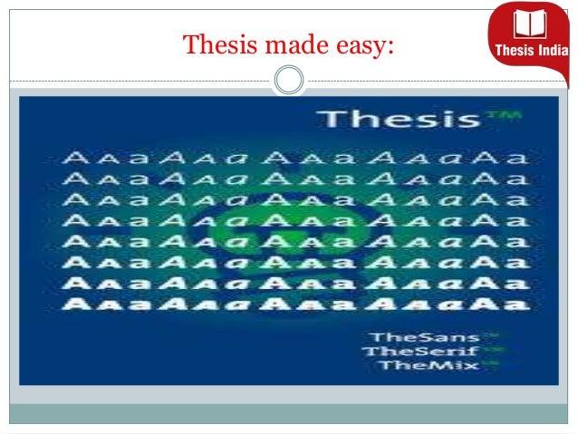 Thesis help services pvt ltd