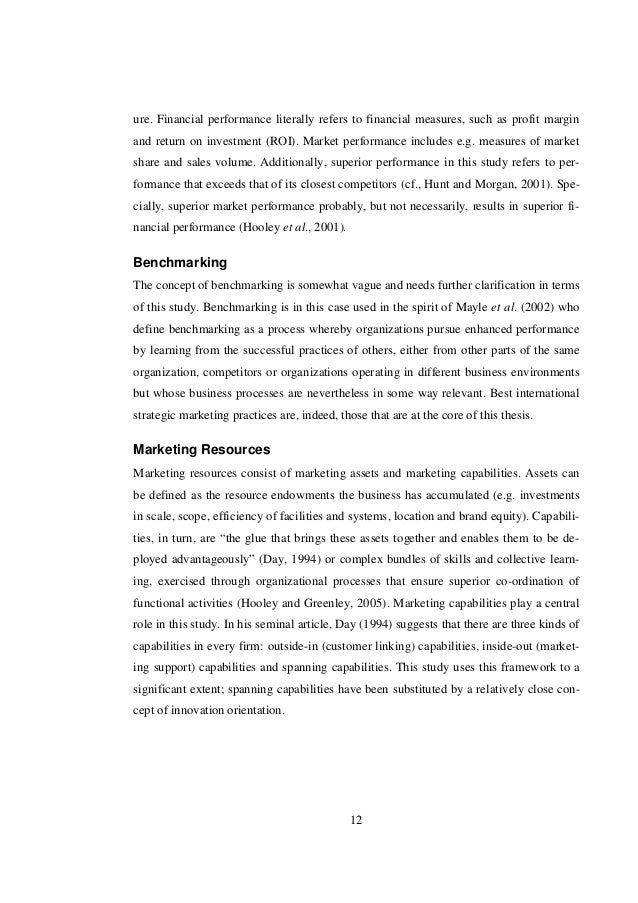 thesis on marketing orientations Philip kotler defines strategic marketing as orientation which emphasis the how to write a research paper in marketing a marketing dissertation is written.