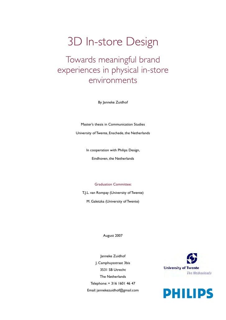 "thesis branding & its impact on the consumer decision making process The influence of purchase decision and brand the positive impact over the consumer decision making process the ""consumer lifestyle impact on."