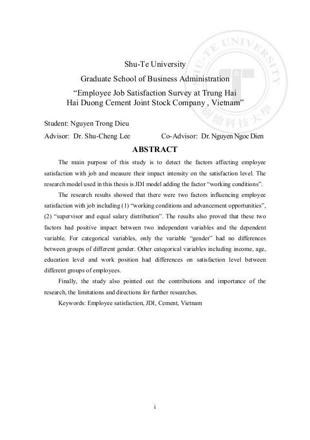 master thesis advisor supervisor
