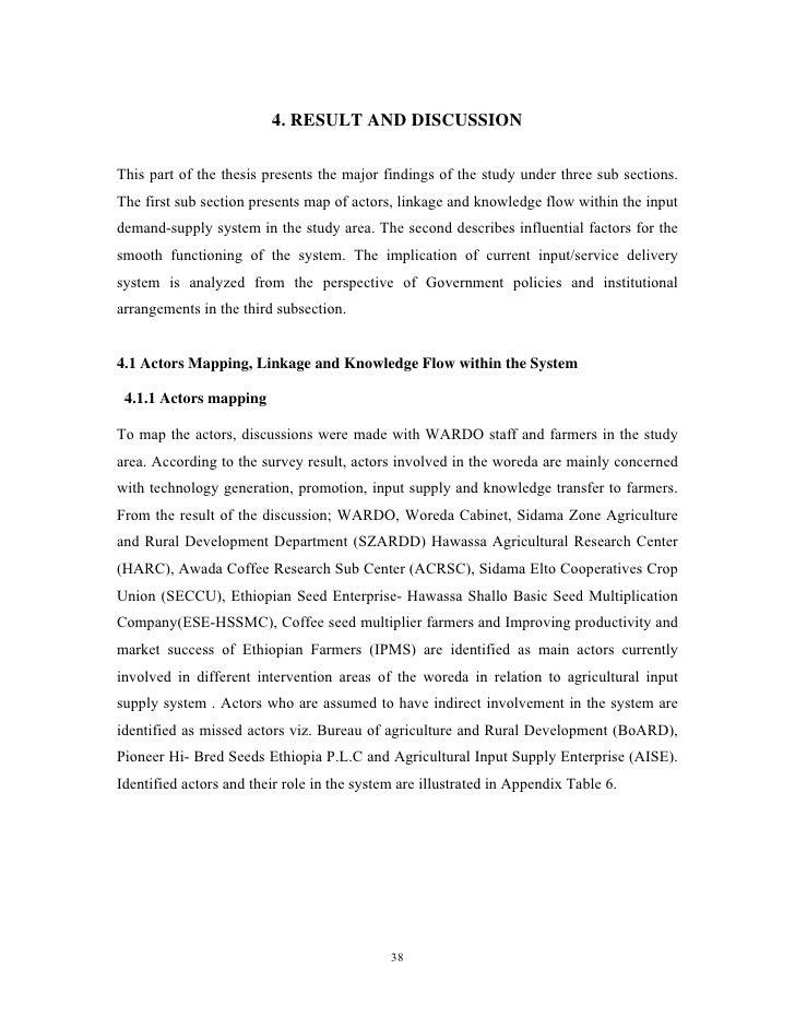 Thesis kubayo analysis