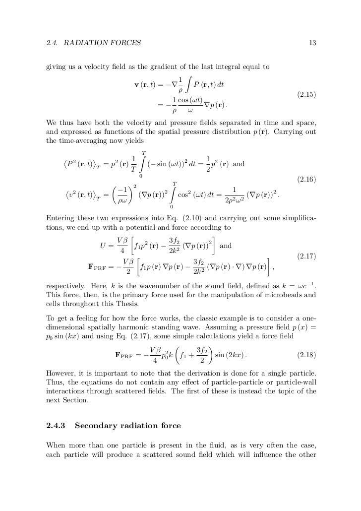 Phd thesis ultrasonic studies