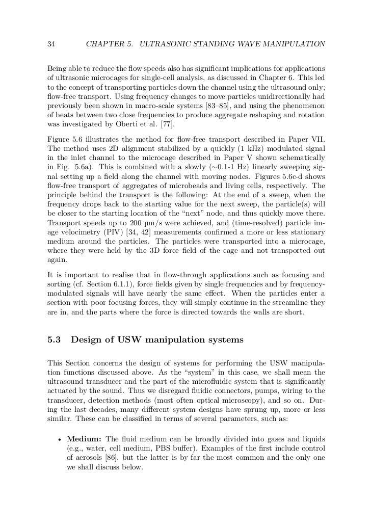 thesis ultrasonic