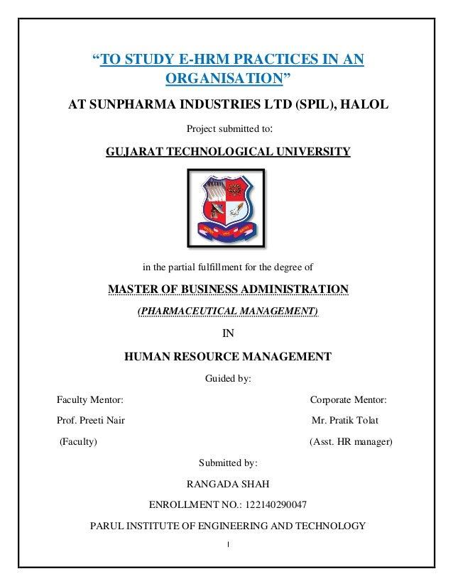 the impact of human resource management on organizational performance pdf