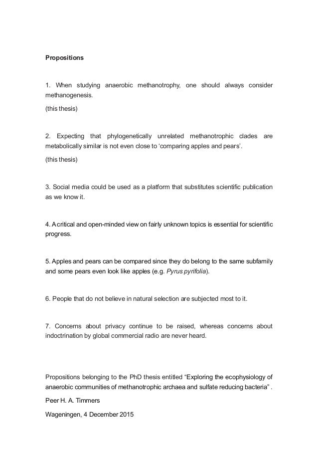 Phd thesis in environmental microbiology