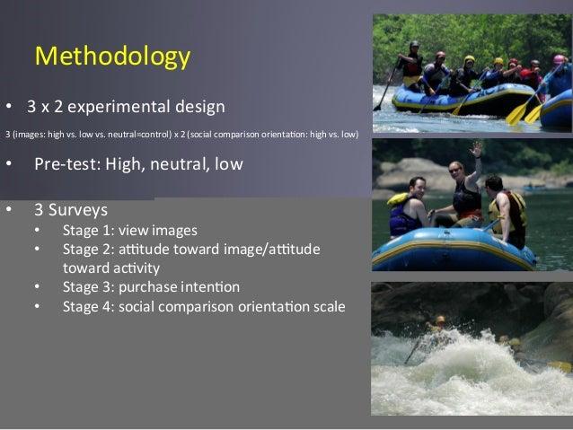 Methodology   • 3  x  2  experimental  design      3  (images:  high  vs.  low  vs.  neutral=co...