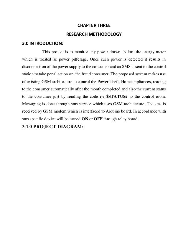 Thesis power theft detection ch 3
