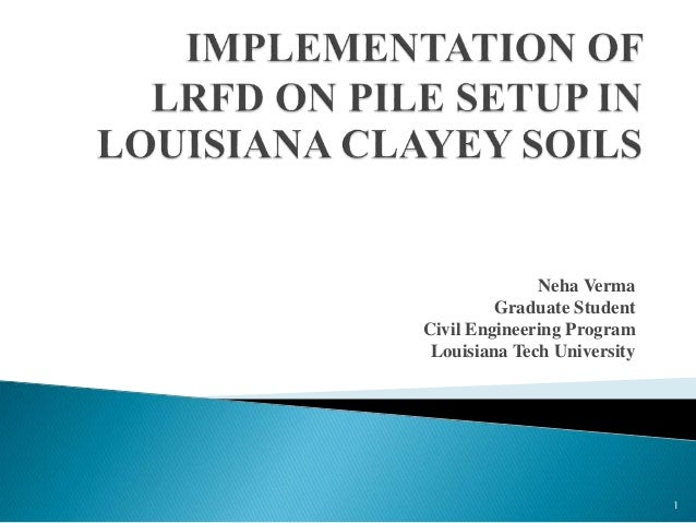 Master thesis in civil engineering