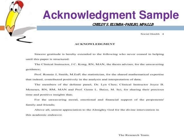 dissertation acknowledgements memory