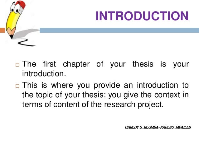 Master thesis in mathematics